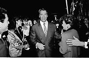Arnold Schwarzenegger arriving  at Vanity Fair magazine's Phoenix House benefit. Los Angeles. March 1990.<br /> <br /> © Copyright Photograph by Dafydd Jones<br /> 66 Stockwell Park Rd. London SW9 0DA<br /> Tel 0171 733 0108<br /> Film.90189/12