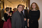SEBASTIAN  CONRAN; GERTRUDE THOMA, Damien Hirst party to preview his exhibition at Sotheby's. New Bond St. London. 12 September 2008 *** Local Caption *** -DO NOT ARCHIVE-© Copyright Photograph by Dafydd Jones. 248 Clapham Rd. London SW9 0PZ. Tel 0207 820 0771. www.dafjones.com.