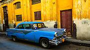 Old Chevrolet in Havana Cuba