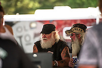 Laconia's 91st Motorcycle Rally Week on the streets.  ©2014 Karen Bobotas Photographer