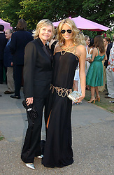 ELLE MACPHERSON and her mother at the Serpentine Gallery Summer party sponsored by Yves Saint Laurent held at the Serpentine Gallery, Kensington Gardens, London W2 on 11th July 2006.<br />