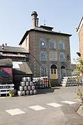 Nineteenth century industrial buildings of Arkell's brewery, Kingsdown, Swindon, Wiltshire, England, UK