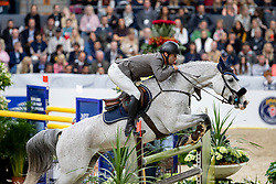 CARRASCO Rodrigo (CHI), Acapulco FZ<br /> Göteborg - Gothenburg Horse Show 2019 <br /> Gothenburg Trophy presented by VOLVO<br /> Int. jumping competition with jump-off (1.55 m)<br /> Longines FEI Jumping World Cup™ Final and FEI Dressage World Cup™ Final<br /> 06. April 2019<br /> © www.sportfotos-lafrentz.de/Stefan Lafrentz