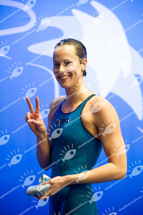 PELLEGRINI Federica ITA Gold Medal<br /> 200m Freestyle Women Final<br /> Netanya, Israel, Wingate Institute<br /> LEN European Short Course Swimming Championships Dec. 2 - 6, 2015 Day04 Dec.05<br /> Nuoto Campionati Europei di nuoto in vasca corta<br /> Photo Giorgio Scala/Deepbluemedia/Insidefoto