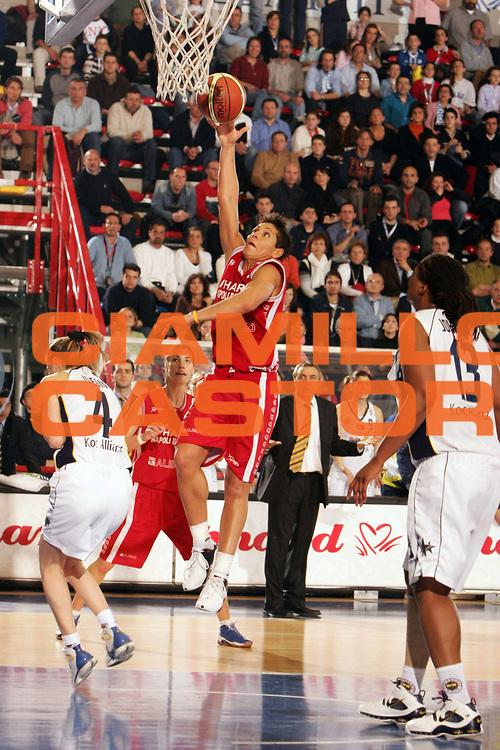 DESCRIZIONE : NAPOLI FIBA EUROPE CUP WOMEN-FIBA COPPA EUROPA DONNE 2004-2005 <br /> GIOCATORE : FERAZZOLI <br /> SQUADRA : PHARD NAPOLI <br /> EVENTO : FIBA EUROPE CUP WOMEN-FIBA COPPA EUROPA DONNE 2004-2005 <br /> GARA : FENERBAHCE SK ISTANBUL-PHARD NAPOLI <br /> DATA : 03/04/2005 <br /> CATEGORIA : Tiro <br /> SPORT : Pallacanestro <br /> AUTORE : Agenzia Ciamillo-Castoria