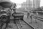 Järnvägsarbetare vid Ulriksdal