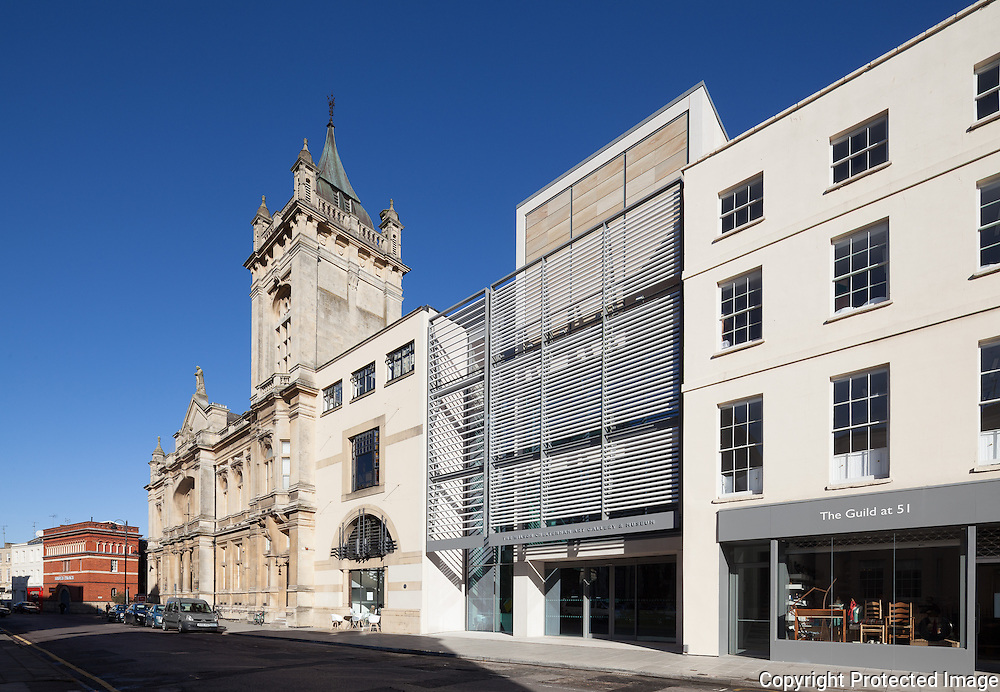 The Wilson: Cheltenham Art Gallery & Museum. Architect: Berman Guedes Stretton