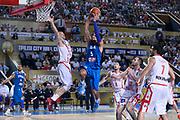 DESCRIZIONE : Tbilisi Nazionale Italia Uomini Tbilisi City Hall Cup Italia Italy Georgia Georgia<br /> GIOCATORE : Alessandro Gentile<br /> CATEGORIA : penetrazione tiro<br /> SQUADRA : Italia Italy<br /> EVENTO : Tbilisi City Hall Cup<br /> GARA : Italia Italy Georgia Georgia<br /> DATA : 16/08/2015<br /> SPORT : Pallacanestro<br /> AUTORE : Agenzia Ciamillo-Castoria/Max.Ceretti<br /> Galleria : FIP Nazionali 2015<br /> Fotonotizia : Tbilisi Nazionale Italia Uomini Tbilisi City Hall Cup Italia Italy Georgia Georgia
