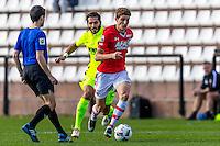 MARBELLA - 07-01-2017, Trainingskamp, AZ - FC Augsburg, 1-1, FC Augsburg speler Halil Altintop, AZ speler Guus Til
