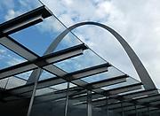 St. Louis Missouri MO USA, The Gateway Arch, Jefferson National Expansion Memorial