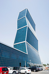 Exterior view of office tower at The Lagoona Centre own Doha Qatar