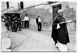 Fuentespalda, Teruel,Spain.<br /> A funeral by a teenager killed in a traffic accident.&copy;Carmen Secanella