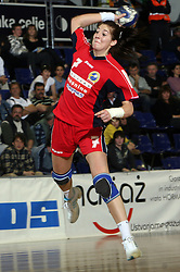 Maja Son of Celje at handball game ZRK Celje Celjske Mesnine vs RK Krim Mercator in final match of Slovenian Handball Cup,  on April 6, 2008 in Arena Golovec, Celje, Slovenia. Krim won the game 31:21 and became Cup Winner.  (Photo by Vid Ponikvar / Sportal Images)