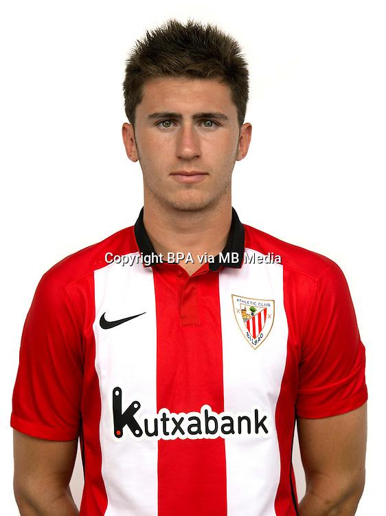 Spain - Liga BBVA 2015-2016 / <br /> ( Athletic Club Bilbao ) -<br /> Aymeric Laporte