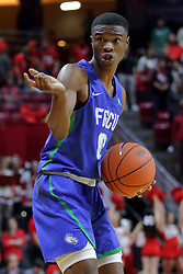 NORMAL, IL - November 06:  Decardo Day during a college basketball game between the ISU Redbirds  and the Florida Gulf Coast Eagles on November 06 2018 at Redbird Arena in Normal, IL. (Photo by Alan Look)