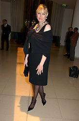 AMY SACCO at a Burns Night dinner in aid of CLIC Sargent and Children's Hospice Association Scotland held at St.Martin's Lane Hotel, St.Martin's Lane, London on 25th January 2007.<br /><br />NON EXCLUSIVE - WORLD RIGHTS