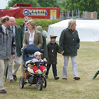 WINDSOR, ENGLAND - MAY 16:  TRH The Earl and Countess of Essex with their son James Viscount Severn and daughter Lady Louise  at Royal Windsor Horse Show on May 16, 2009 in Windsor, England. ..Marco Secchi /Xianpix. tel +44 (0) 845 050 6211. e-mail ms@msecchi.com or sales@xianpix.com.www.marcosecchi.com