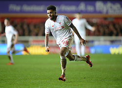 Jerome Sinclair of Liverpool - Mandatory byline: Alex James/JMP - 08/01/2016 - FOOTBALL - St James Park - Exeter, England - Exeter City v Liverpool - FA Cup Third Round