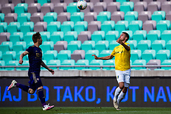 Miha Kancilija of NK Bravo waiting for a ball during football match between NK Bravo and NK Maribor in 34. Round of Prva liga Telekom Slovenije 2019/20, on July 15. 2020 in Stadium Stozice, Ljubljana, Slovenia. Photo by Grega Valancic / Sportida.