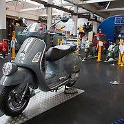 Vespa GT60, 60th anniversary special model at the Piaggio Museum, Pontedera, Tuscany, Italy