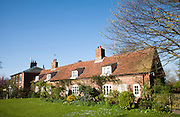 Pretty attractive traditional cottage at village of Orford, Suffolk, England