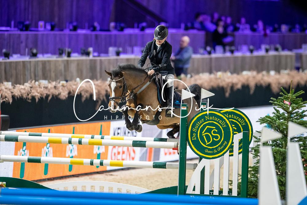 Lenaerts Louise, BEL, Oyalele-V<br /> Jumping Mechelen 2019<br /> © Hippo Foto - Dirk Caremans<br />  27/12/2019