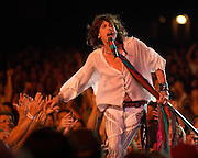 AEROSMITH performs at Riverbend Music center in cincinnati Ohio  on August 13, 2003