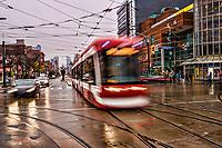 Toronto Streetcar, Spadina Avenue & Dundas Street
