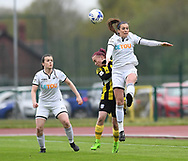 Cardiff Ladies v Swansea City Ladies <br /> <br /> Photographer Mike Jones / Replay Images<br /> Cardiff International Sports Campus <br /> Cardiff, Wales - 27th April 2018<br /> Cardiff Ladies v Swansea City Ladies - Welsh Premier Women's League<br /> <br /> World Copyright © Replay Images . All rights reserved. info@replayimages.co.uk - http://replayimages.co.uk