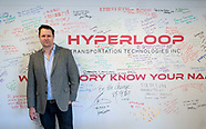Dirk Ahlborn of Hyperloop Transportation Technologies.