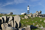 Peninnis Lighthouse on St Mary's, Isles of Scilly