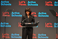 Michelle Obama speaking in Chicago