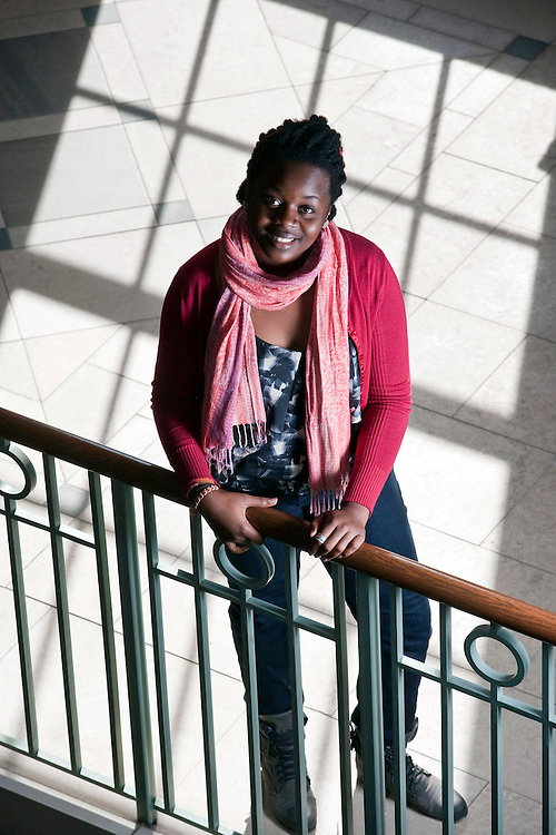 February 11, 2011 - Harvard University student Ekene Agu is a student moderator of a Sustained Dialogue group, which works to facilitate candid discussion about social identity.