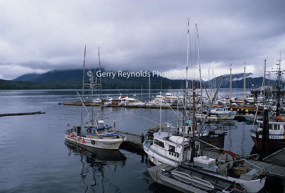 Fishing Boats, Prince Rupert, Canada