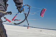 Snow Kiting on Lake Winnipesaukee 1Mar11