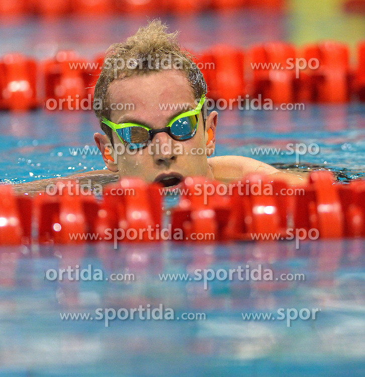 04-04-2015 NED: Swim Cup, Eindhoven<br /> Joeri Verlinden, 100m butterfly<br /> Photo by Ronald Hoogendoorn / Sportida