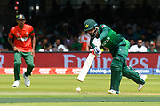 Mohammad Hafeez of Pakistan batting during the ICC Cricket World Cup 2019 match between Pakistan and Bangladesh at Lord's Cricket Ground, St John's Wood, United Kingdom on 5 July 2019.