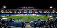 MADRID, persconferentie en training PSV, 22-11-2016, voetbal, Champions League, seizoen 2016-2017, Estadio Vicente Calderon, overzicht stadion.