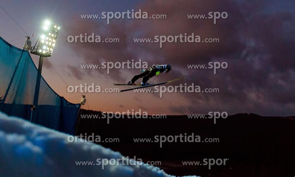 02.12.2016, Vogtland Arena, Klingenthal, GER, FIS Weltcup Ski Sprung, Klingenthal, im Bild Vladimir Zografski (BUL) // Vladimir  Zografski of Bulgaria during the mens FIS Skijumping World Cup at the Vogtland Arena in Klingenthal, Germany on 2016/12/02. EXPA Pictures © 2016, PhotoCredit: EXPA/ JFK