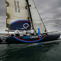 BEN AINSLEY, TEAM ORIGIN, Round the Island Race, Cowes, Isle of Wight. Round the Island Race 2009