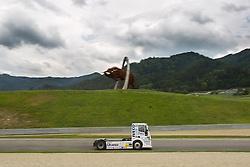 06.07.2013, Red Bull Ring, Spielberg, AUT, Truck Race Trophy, Renntag 1, im BildMarkus Altenstrasser, (AUT, Team Schwaben-Truck, #28) // during the Truck Race Trophy 2013 at the Red Bull Ring in Spielberg, Austria, 2013/07/06, EXPA Pictures © 2013, PhotoCredit: EXPA/ M.Kuhnke