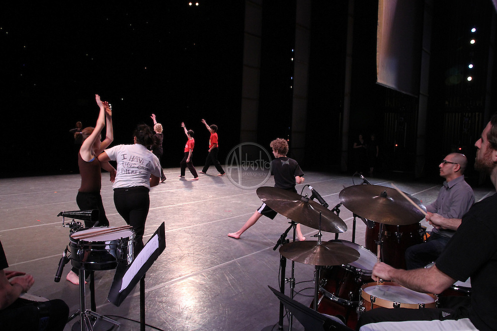 PNB Discover Dance performance rehearsal March 2012. Pinehurst.