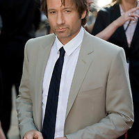 """London, Leicester Square  July 30th   David Duchovny  arrives  at the uk film premiere of """"The X Files I want to believe"""" at the Empire Cinema in Leicester Square"""