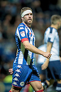 Jake Buxton (Wigan Athletic) during the EFL Sky Bet Championship match between Preston North End and Wigan Athletic at Deepdale, Preston, England on 23 September 2016. Photo by Mark P Doherty.