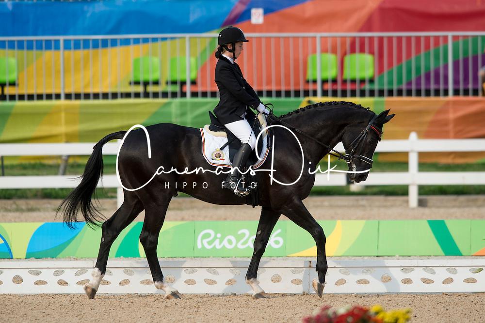 Van Looveren Eveline (BEL) - Exelent<br /> Ind. - Grade II - Dressage <br /> Rio 2016 Paralympic Games<br /> &copy; Hippo Foto - Jon Stroud<br /> 15/09/16