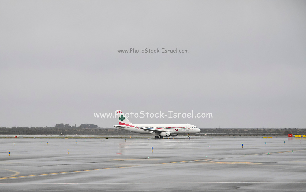 MEA - Middle East Airlines Airbus A320-200 at Paphos International Airport