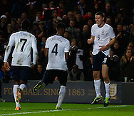Picture by David Horn/Focus Images Ltd +44 7545 970036<br /> 14/11/2013<br /> Michael Keane of England Under 21 celebrates scoring his team's first goal to make it 1-0 during the European U21 Championship match at stadium:mk, Milton Keynes.