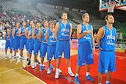 DESCRIZIONE : Firenze I&deg; Torneo Nelson Mandela Forum Italia Macedonia<br /> GIOCATORE : Team Italia<br /> SQUADRA : Nazionale Italia Uomini <br /> EVENTO : I&deg; Torneo Nelson Mandela Forum <br /> GARA : Italia Macedonia<br /> DATA : 16/07/2010 <br /> CATEGORIA : Ritratto<br /> SPORT : Pallacanestro <br /> AUTORE : Agenzia Ciamillo-Castoria/M.Gregolin<br /> Galleria : Fip Nazionali 2010