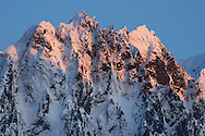 Sunset on Mount Index - Mount Index