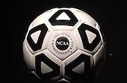 14319Elements for Athletics Media Guide: track shoes/soccer ball/volyball/ field hockey